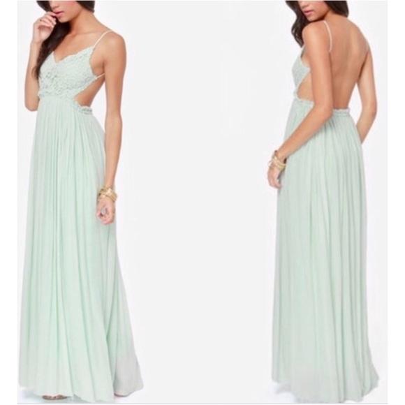 Boutique Dresses & Skirts - Mint Maxi Dress